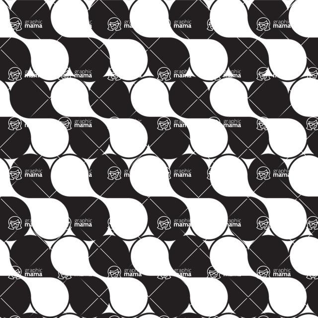 Seamless Pattern Designs Mega Bundle - Geometric Pattern 46