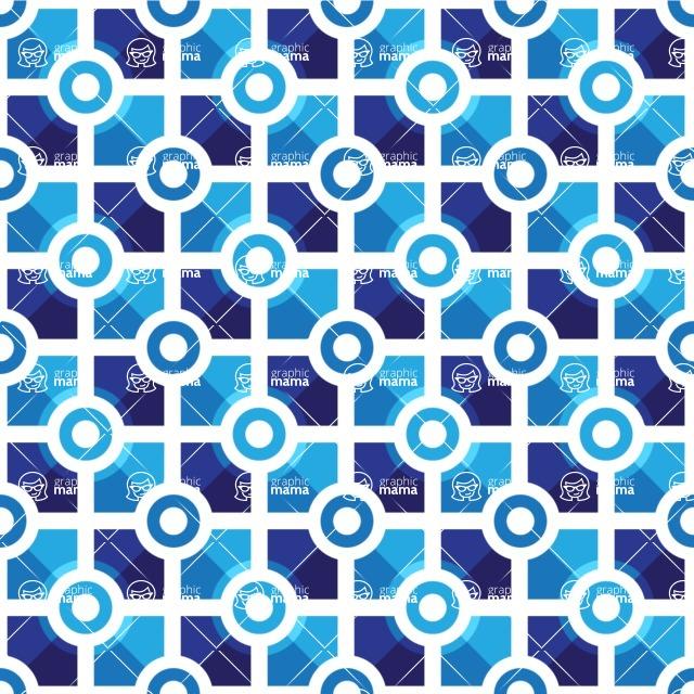 Seamless Pattern Designs Mega Bundle - Geometric Pattern 51