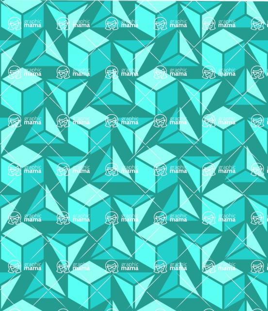 Seamless Pattern Designs Mega Bundle - Geometric Pattern 54