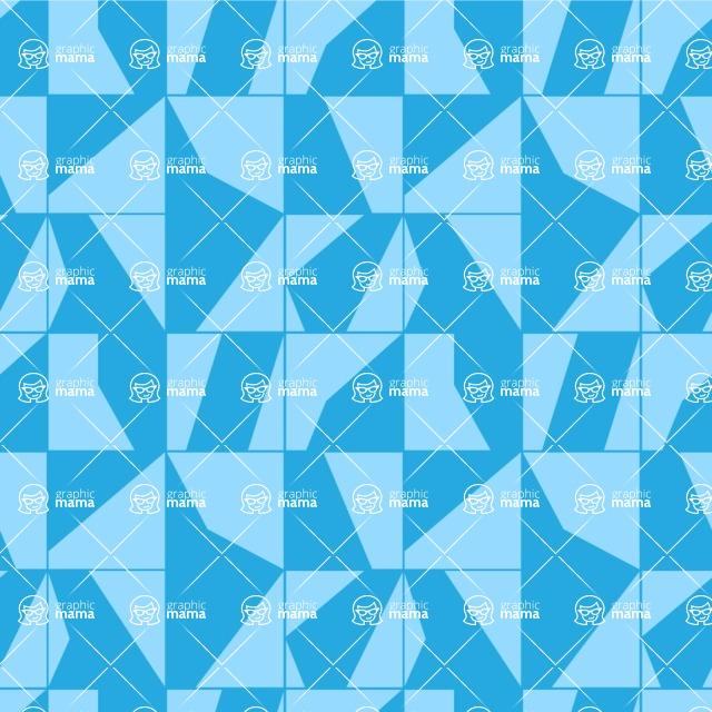 Seamless Pattern Designs Mega Bundle - Geometric Pattern 63