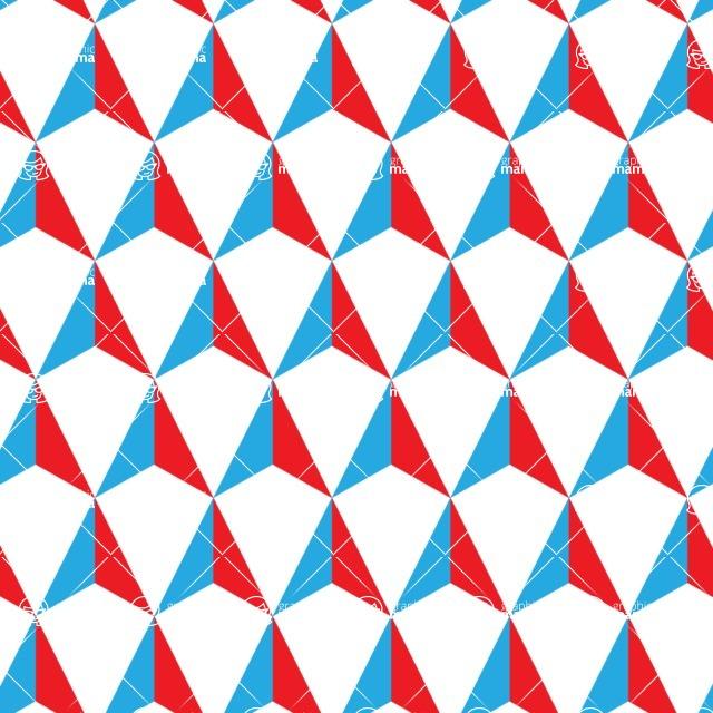 Seamless Pattern Designs Mega Bundle - Geometric Pattern 66