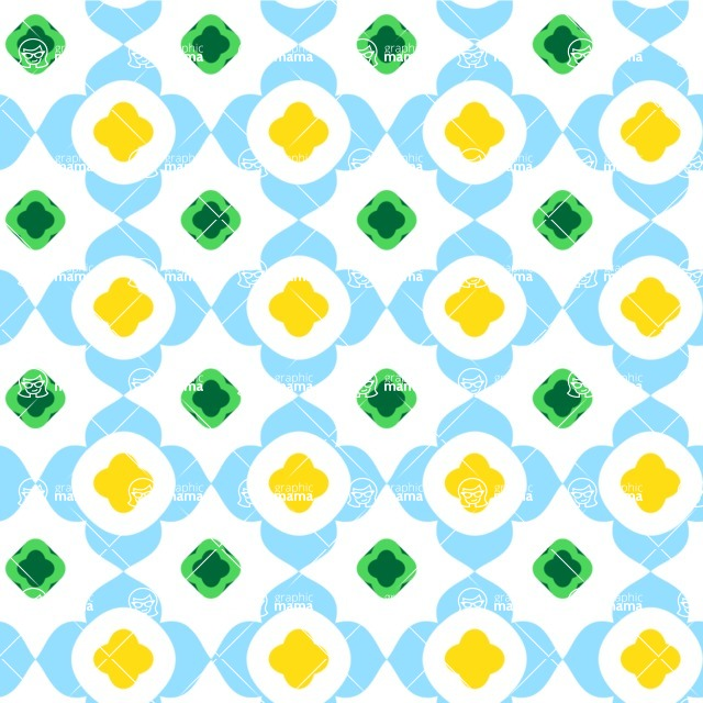 Seamless Pattern Designs Mega Bundle - Geometric Pattern 80