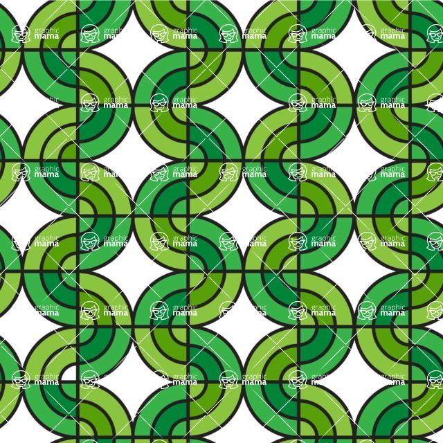 Seamless Pattern Designs Mega Bundle - Geometric Pattern 87