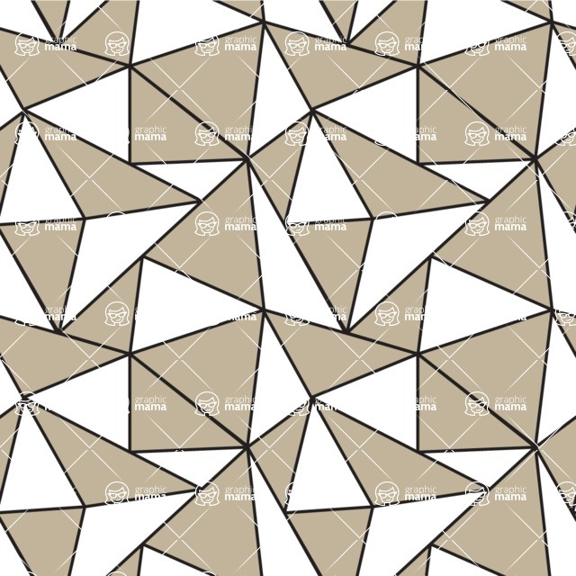 Seamless Pattern Designs Mega Bundle - Geometric Pattern 89
