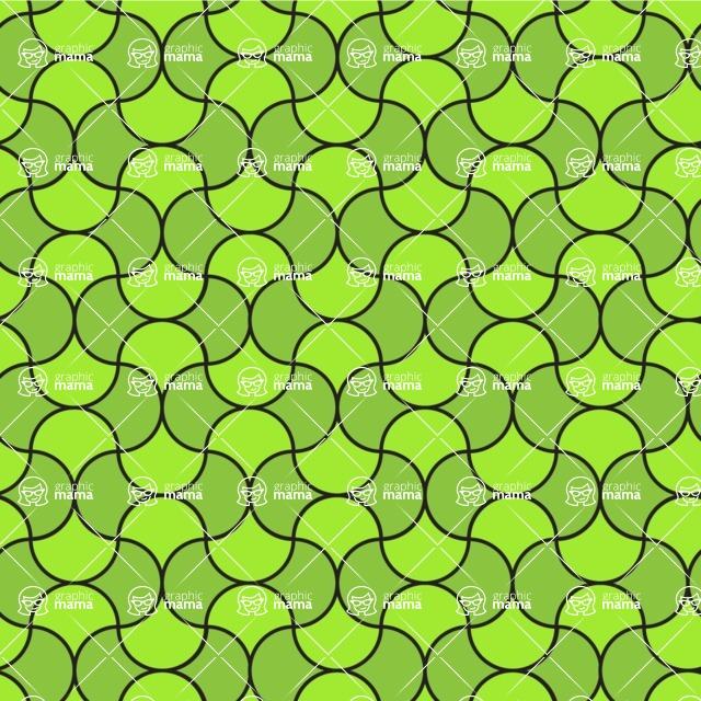 Seamless Pattern Designs Mega Bundle - Geometric Pattern 92