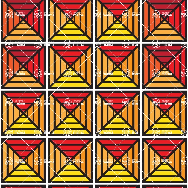 Seamless Pattern Designs Mega Bundle - Geometric Pattern 93