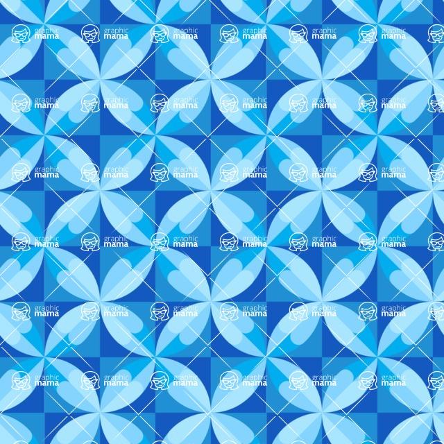 Seamless Pattern Designs Mega Bundle - Geometric Pattern 106