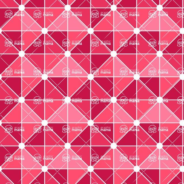 Seamless Pattern Designs Mega Bundle - Geometric Pattern 107