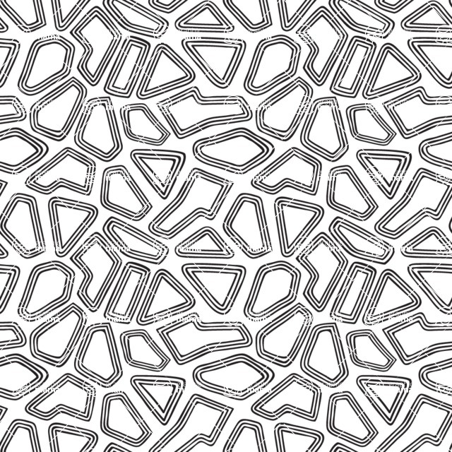 Seamless Pattern Designs Mega Bundle - Hand-drawn Pattern 18