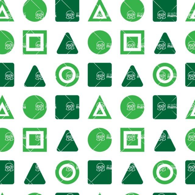 Seamless Pattern Designs Mega Bundle - Geometric Pattern 112