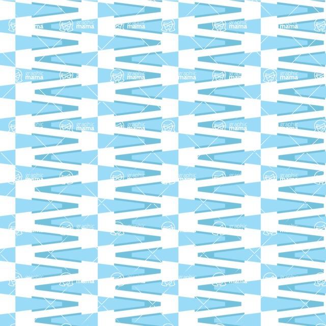 Seamless Pattern Designs Mega Bundle - Geometric Pattern 124