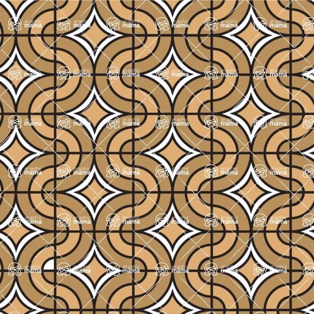 Seamless Pattern Designs Mega Bundle - Geometric Pattern 135