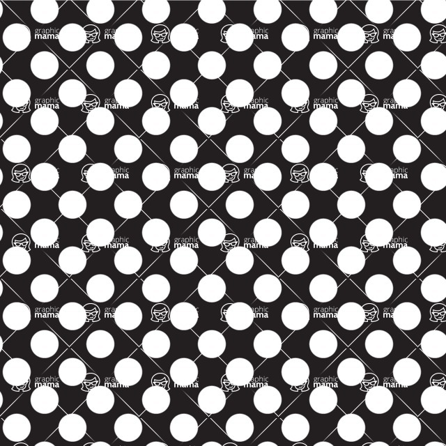 Seamless Pattern Designs Mega Bundle - Polka Dot Pattern 5