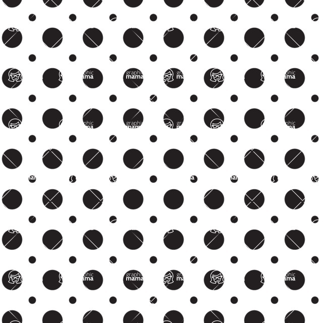 Seamless Pattern Designs Mega Bundle - Polka Dot Pattern 10