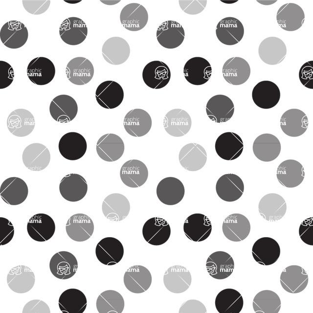 Seamless Pattern Designs Mega Bundle - Polka Dot Pattern 11