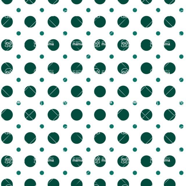 Seamless Pattern Designs Mega Bundle - Polka Dot Pattern 22