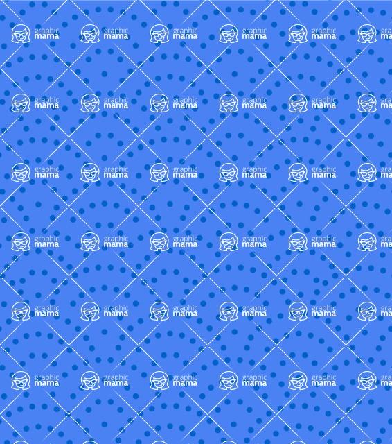 Seamless Pattern Designs Mega Bundle - Polka Dot Pattern 24