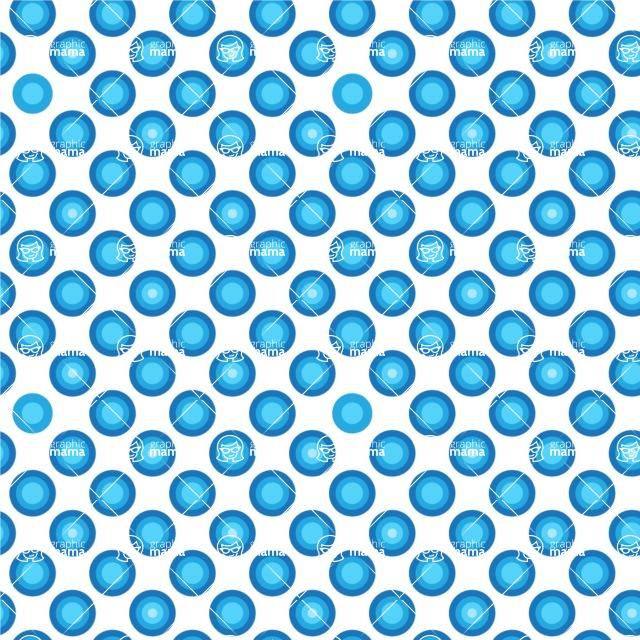 Seamless Pattern Designs Mega Bundle - Polka Dot Pattern 27