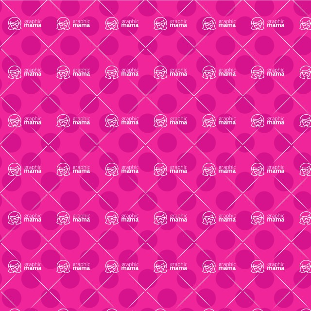 Seamless Pattern Designs Mega Bundle - Polka Dot Pattern 29
