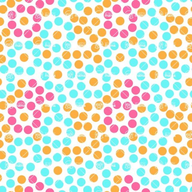 Seamless Pattern Designs Mega Bundle - Polka Dot Pattern 31