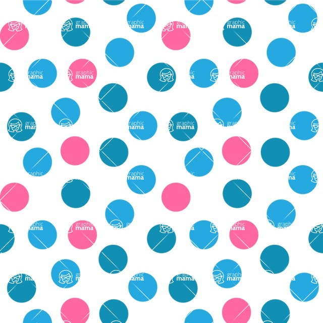 Seamless Pattern Designs Mega Bundle - Polka Dot Pattern 35