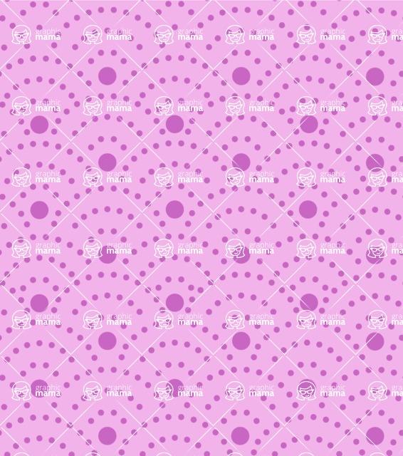 Seamless Pattern Designs Mega Bundle - Polka Dot Pattern 36