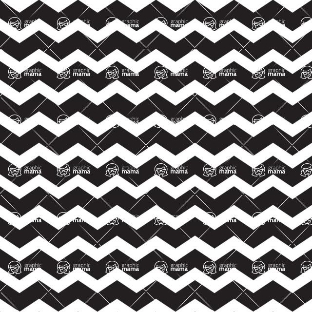 Seamless Pattern Designs Mega Bundle - Chevron Pattern 1