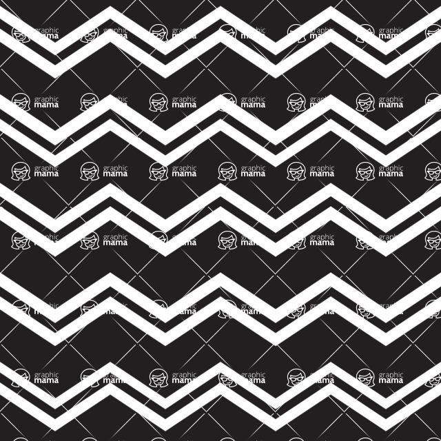 Seamless Pattern Designs Mega Bundle - Chevron Pattern 4