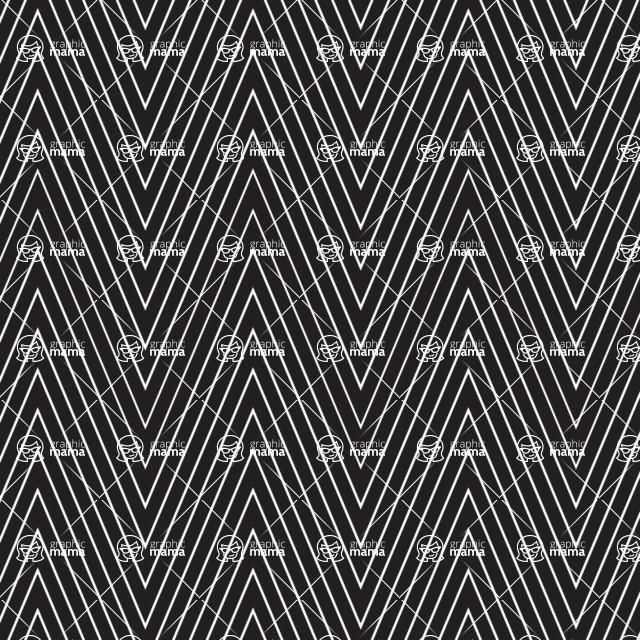 Seamless Pattern Designs Mega Bundle - Chevron Pattern 5