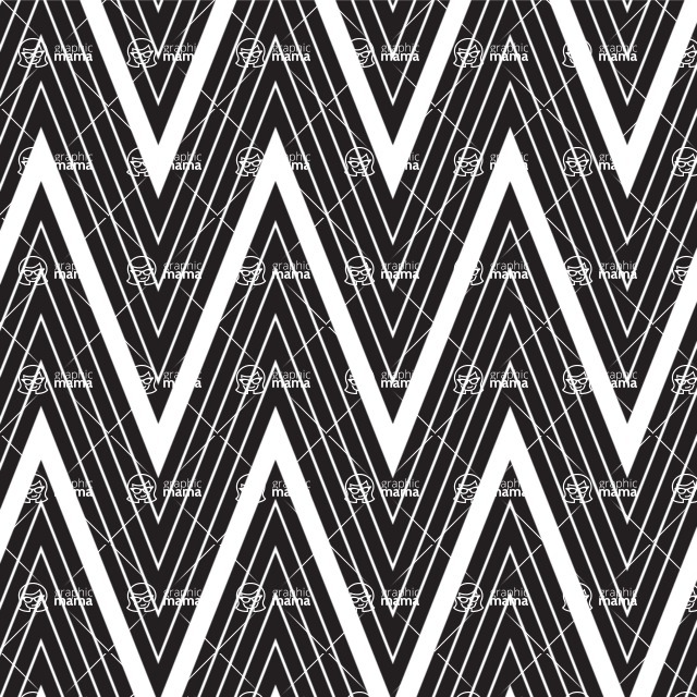 Seamless Pattern Designs Mega Bundle - Chevron Pattern 6