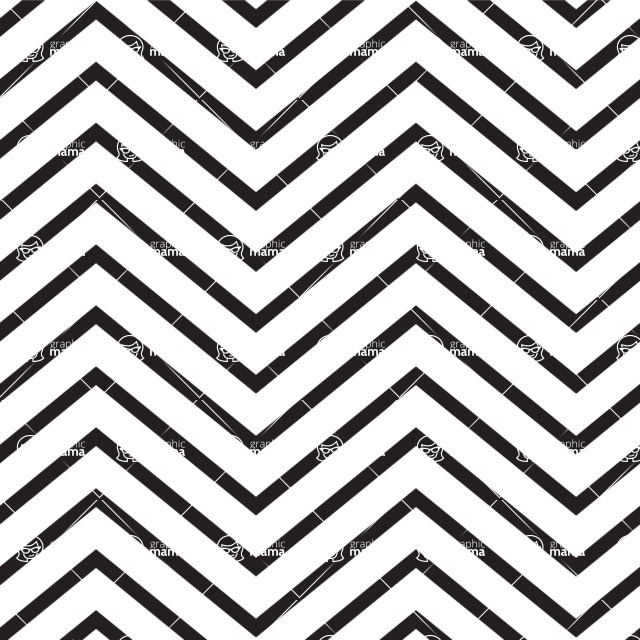 Seamless Pattern Designs Mega Bundle - Chevron Pattern 7