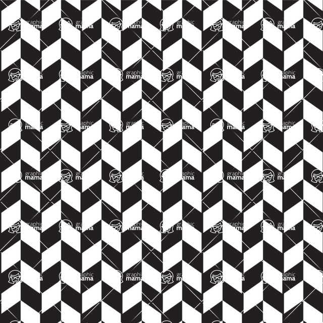Seamless Pattern Designs Mega Bundle - Chevron Pattern 8