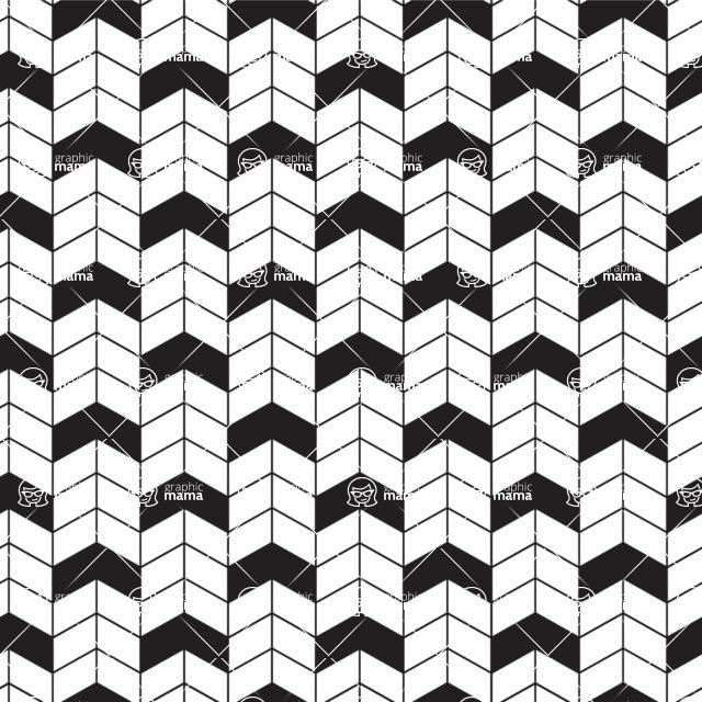 Seamless Pattern Designs Mega Bundle - Chevron Pattern 10
