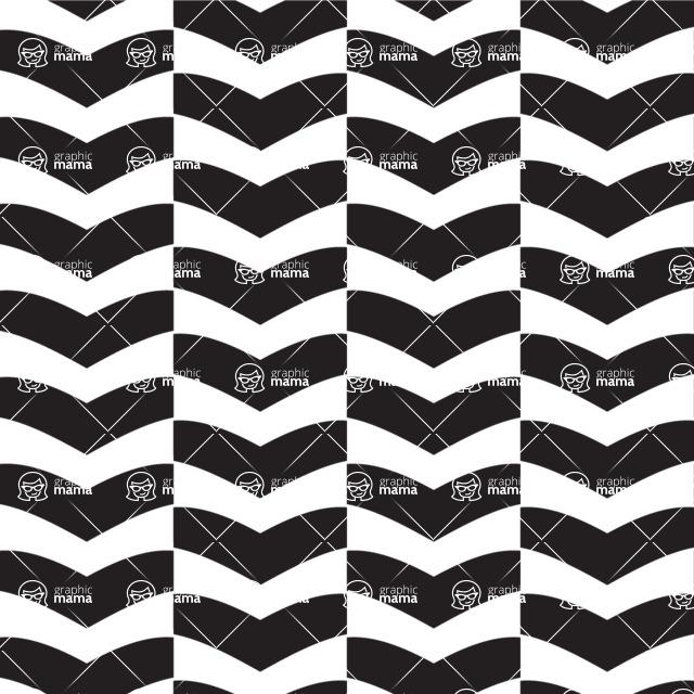 Seamless Pattern Designs Mega Bundle - Chevron Pattern 11