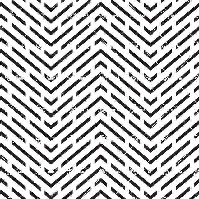 Seamless Pattern Designs Mega Bundle - Chevron Pattern 12