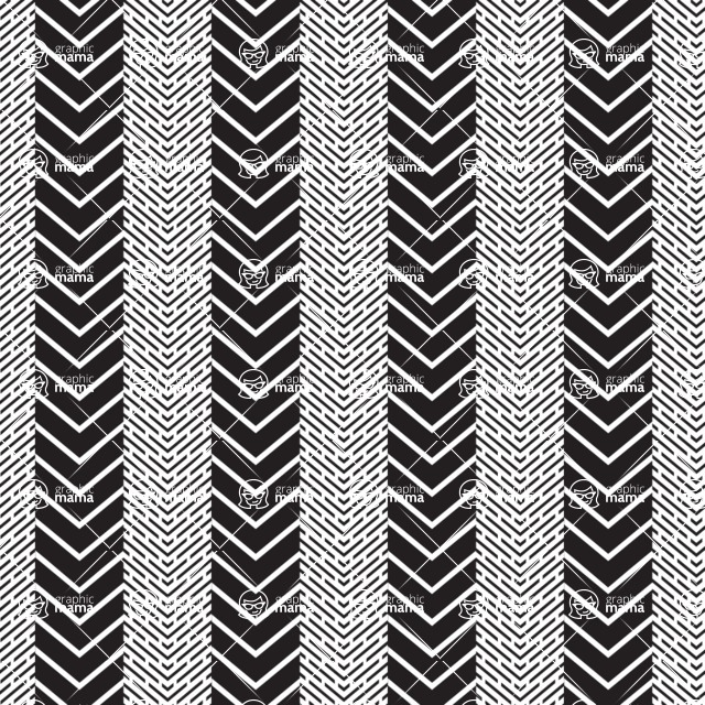 Seamless Pattern Designs Mega Bundle - Chevron Pattern 13