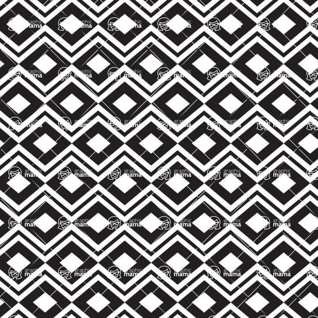 Seamless Pattern Designs Mega Bundle - Chevron Pattern 15