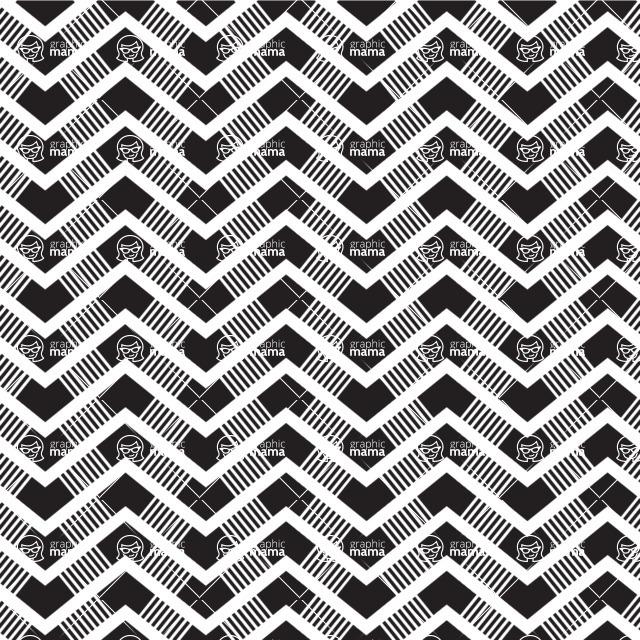 Seamless Pattern Designs Mega Bundle - Chevron Pattern 17