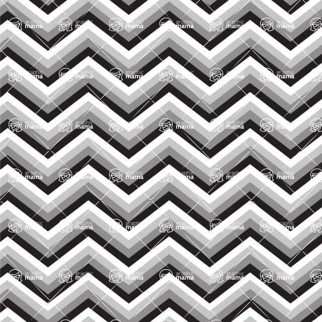 Seamless Pattern Designs Mega Bundle - Chevron Pattern 19