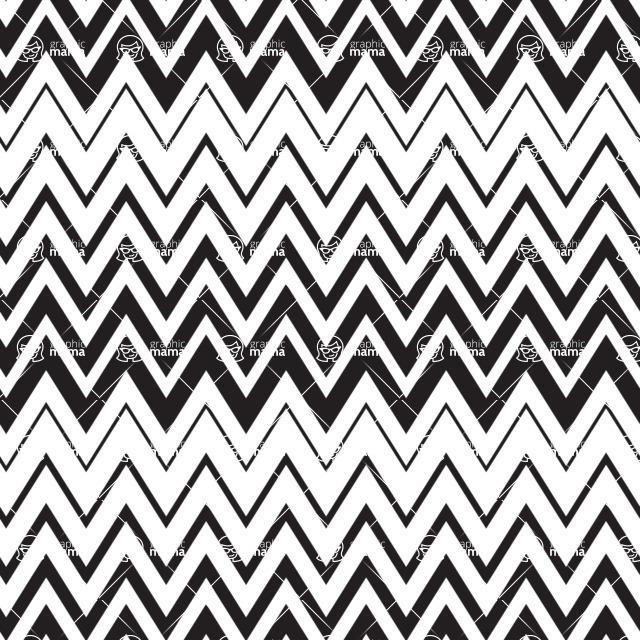 Seamless Pattern Designs Mega Bundle - Chevron Pattern 21