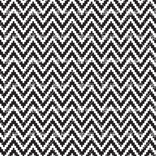 Seamless Pattern Designs Mega Bundle - Chevron Pattern 22
