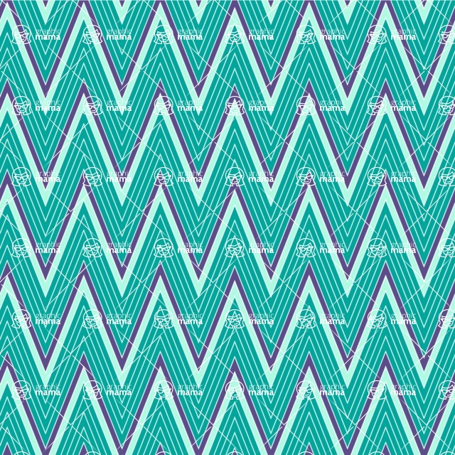 Seamless Pattern Designs Mega Bundle - Chevron Pattern 28