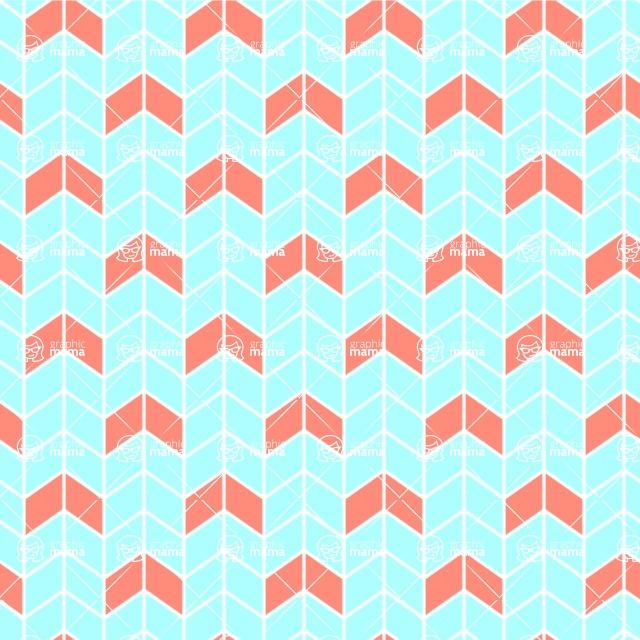 Seamless Pattern Designs Mega Bundle - Chevron Pattern 30