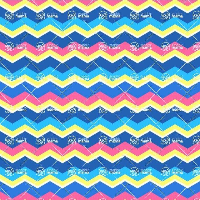 Seamless Pattern Designs Mega Bundle - Chevron Pattern 31