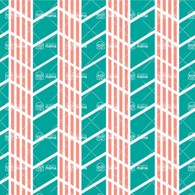 Seamless Pattern Designs Mega Bundle - Chevron Pattern 32