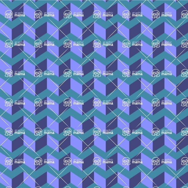 Seamless Pattern Designs Mega Bundle - Chevron Pattern 36