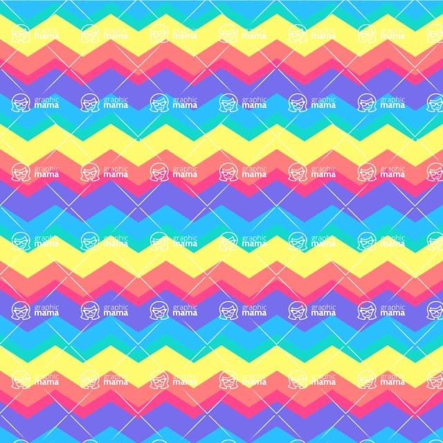Seamless Pattern Designs Mega Bundle - Chevron Pattern 37