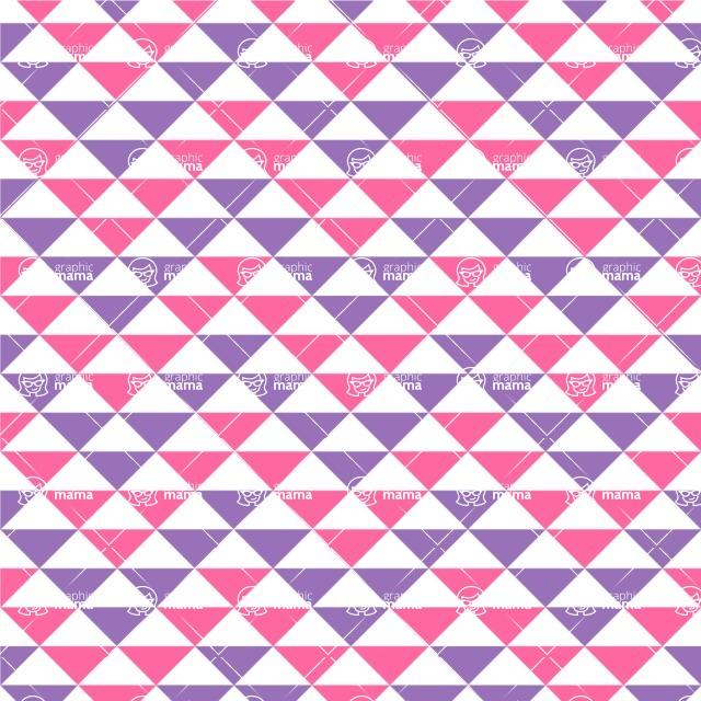 Seamless Pattern Designs Mega Bundle - Chevron Pattern 38