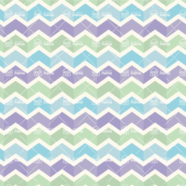 Seamless Pattern Designs Mega Bundle - Chevron Pattern 41