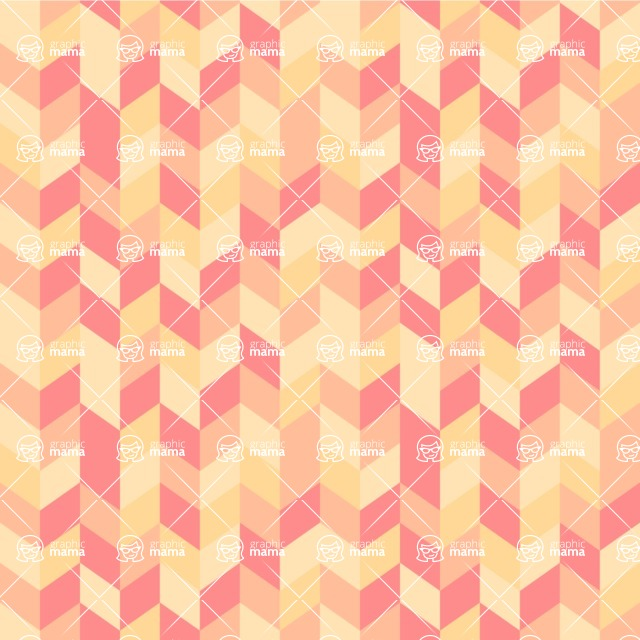 Seamless Pattern Designs Mega Bundle - Chevron Pattern 42